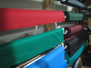 Modesto pool table recovering table cloth colors