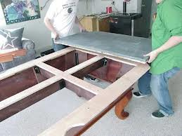 Pool table moves in Modesto California