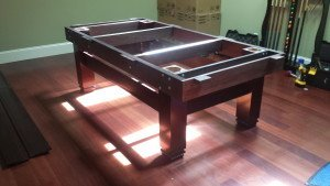 Correctly performing pool table installations, Modesto California