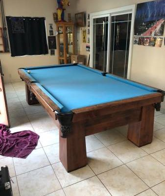 1920's Pool Table