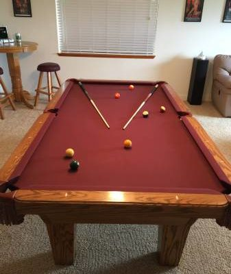 "Pool Table "" OLHAUSEN """