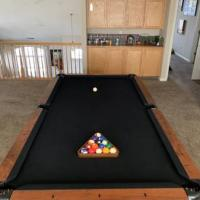 Pool Table 8' Tournament Slate