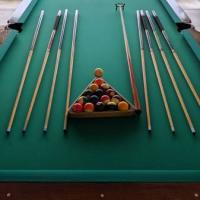 Premium Full Size Pool Table with Accessories