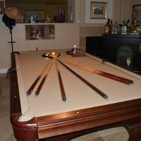 Olhausen Pool Table 4 Piece Italian Slate