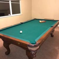 Real 8ft 3 Piece Slate Pool Table