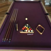 Beautiful Olhausen Contemporary 8.5' Pool Table