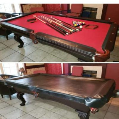 Like New 8 Foot Pool Table