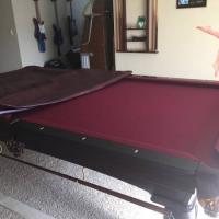 Slate 8' Pool Table